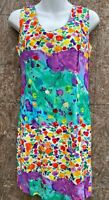 Jams World Bright colorful dress Size 5 Beach travel floral