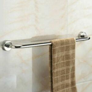 31cm Bathroom Toilet Hand Towel Rail Rack Holder Stainless Chrome Wall Mounted