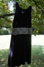 Un, Deux, Trois Black Lace Dress, size 14