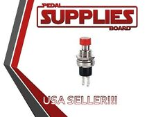 SPST Momentary Switch 12VAC On Off Red Kill Switch for Guitar
