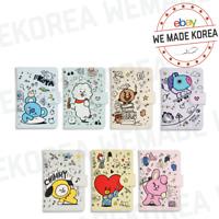BT21 Character Mini Journey Doodle Passport Cover 7types Authentic K-POP Goods
