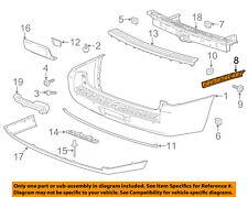 GM OEM Rear Bumper-Side Bracket Left 22806425