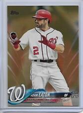 2018 Topps Series 2 Adam Eaton Gold Parallel Card #/2018
