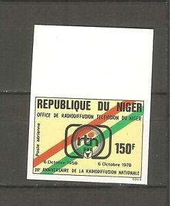 Niger Rundfunk 630 ungezähnt postfrisch