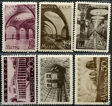 Russia. Sc. 687-92. CK. 547-52. Subway. MLHOG. CV $125.00+.