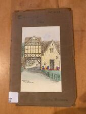 """1943 """"COTSWOLDS CALLING"""" A DOROTHY HOLMES ILLUSTRATED PAPERBACK BOOK"""