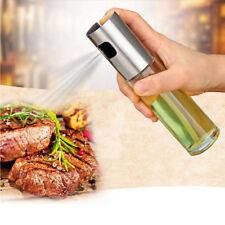 Stainless Steel Olive Oil Sprayer Cooking Mister Spray Pump Fine Bottle Kitchen