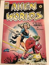 Alien Worlds #2 Aurora Dave Stevens PC Eclipse Comic 1st Print 1983 unread NM