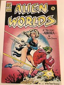 Alien Worlds #2 Aurora Dave Stevens PC Eclipse Comic 1st Print 1983 unread NM