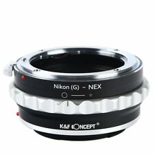 K&F Concept Adapter for Nikon G AF-S F AI Lens to Sony E Mount NEX a5000 a7