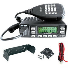 Leixen VV-898 UHF VHF Dual Band 2m 70cm Mobile Amateur / Taxi Radio Transceiver