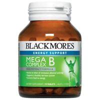 BLACKMORES MEGA B COMPLEX 75 TABLETS HIGH POTENCY FORMULA ENERGY B VITAMINS