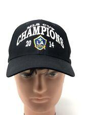 Los Angeles Galaxy adidas Adjustable 2014 MLS Cup Champions Soccer Cap Hat