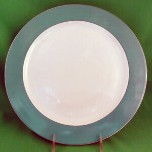 """ROSENTHAL CHARGER PLATE Light Green 12"""" NEW NEVER USED made in Germany"""