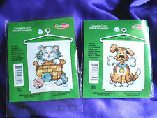 2 new unopened Sullivans Counted crossstitch mini kits