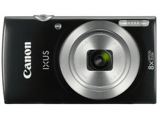 Cámara - Canon Ixus 185, 20 mpx, 8x, HD, Funda, Negro
