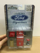 Genuine Parts Ford figurines Shop Tool Set #585 Mustang Red 1:18 Scene Model