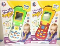 Baby Kid Child Educational Learning Mobile Phone Toy Musical Playing