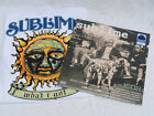 SUBLIME GREATEST HITS ICON OCEANIA BLUE VINYL LP + FREE NWT WHAT I GOT T-SHIRT