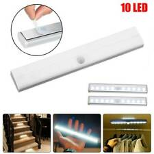 10 LED Motion Sensor Closet Light Wireless Night Cabinet Battery Powered