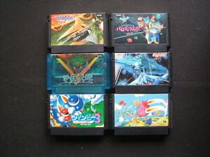 NINTENDO Famicom JPN 6 shooting games (Gradius, Salamander, Twenbee3 ecc...)
