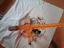 Playmobil, obra, construcción-set, grúa 3262+ prefabricados 3260, accesorios, 6 personajes