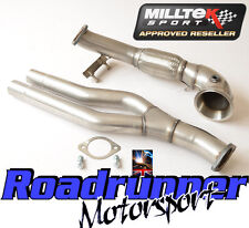 Milltek Audi RS3 8P Exhaust Turbo Elbow Primary DeCat Pipe Twin Outlet SSXAU344