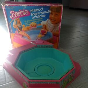 BARBIE WHIRPOOL BAGNO TERMALE # 7145 MADE IN ITALY 1983