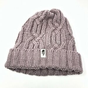 NWT The North Face Girls/Youth Purple fleece lined Beanie, Ashen Purple OS