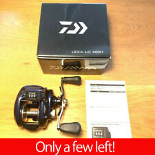 New Daiwa LEXA-LC400H Lexa-LC 6.3:1 Line Counter Baitcast Right Fishing Reel