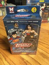 Panini Meta X Justice League TCG Sealed 50ct. Starter Deck DC Batman Superman