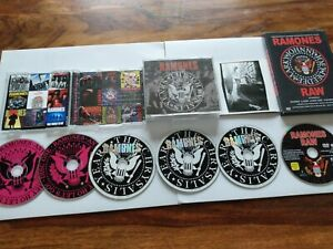 The Ramones, The Chrysalis Years,3 CD Set, Ramones Raw DVD, Anthology 56 Tracks