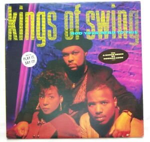 1990 - KINGS OF SWING - NOD YOUR HEAD TO THIS / GO COCOA! - ORIGINAL PRESS PROMO