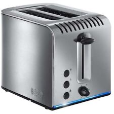 Russell Hobbs Buckingham 2-Slice Toaster 20740 Wide Slot Brushed Stainless Steel