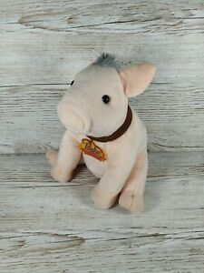 """Babe Pig In The City Universal Studios Approx 9"""" Soft Toy Plush"""