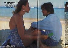Coupure de presse Clipping 1984 Valérie Kaprisky & Bernard Giraudeau  (4 pages)