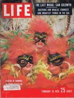ORIGINAL Vintage Life Magazine February 16 1959 Sam Goldwyn