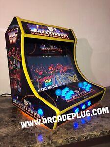 WWF Wrestlefest Multicade Tabletop Bartop Arcade Cabinet 256GB Raspberry pi