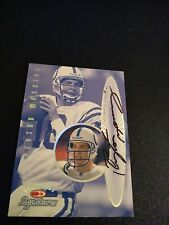 1999 Peyton Manning Donruss Preferred Signatures Auto Indianapolis Colts