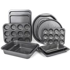 Mastronics Premium Bakeware Set Non Stick Baking Trays Oven Sheets Roasting Tin