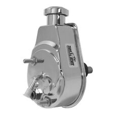 Tuff Stuff Power Steering Pump 6178A; 1200psi Saginaw Chrome for 75-79 Corvette