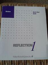 Windows Quick Start Guide Version 3.7 Reflection 1, Walker Richer & Quinn, Inc.