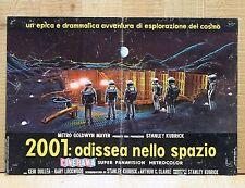 2001 ODISSEA NELLO SPAZIO poster fotobusta Kubrick Astronauts Space Odyssey D12