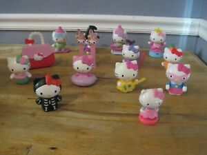McDonald's Sanrio Hello Kitty Happy Meal Toys Cat Figurine You Choose
