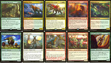 MTG Dinosaur Deck - Gishath Sun's Avatar Regisaur Alpha Drover Otepec Magic