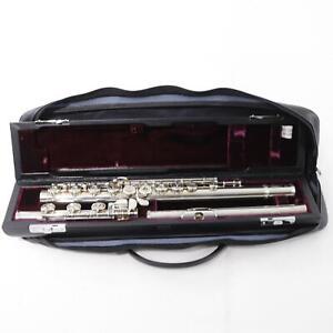 Yamaha YFL-774HCT Solid Silver Professional Flute C# Trill Key SN 029672 SUPERB