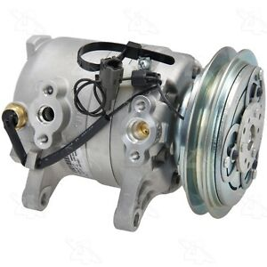 For A/C Compressor Four Seasons 58444 for Nissan 720 D21 Pickup