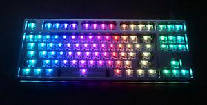 DROP CTRL High Profile 87% Silver Hot Swappable Mechanical Barebones Keyboard