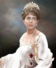 Marie Queen of Romania Colour Painting Princess of Edinburgh Wife of Ferdinand I