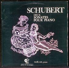 Schubert Sonates 13 & 21 Noël Lee LP M, CV NM